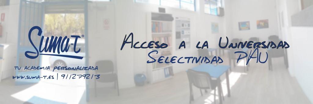 Suma-T: Tu academia de Selectividad en Madrid
