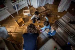 Madres y padres de día