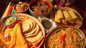 Comida tradicional Dia de los Muertos