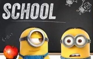 Minions en la escuela