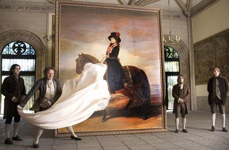 Fotograma de la película Los fantasmas de Goya