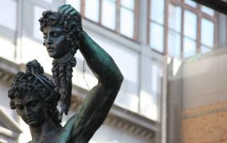 Estatua de Perseo en la ciudad de Florencia