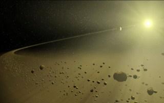 Disco planetario de Kepler