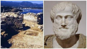 Aristóteles y su posible sepulcro