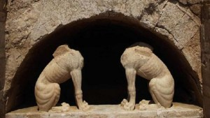 Posible sepulcro Aristóteles