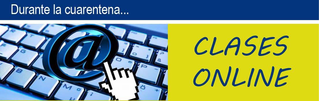 Banner clases online cuarentena
