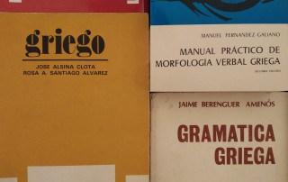 libros de gramática griega